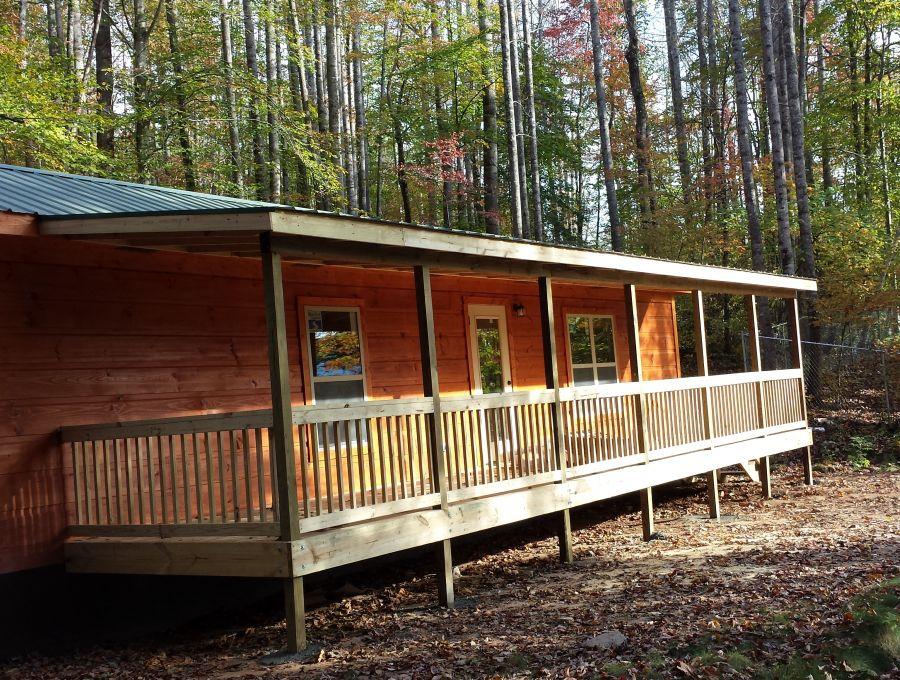 Photo manufacturer of rv park model log cabin homes for images