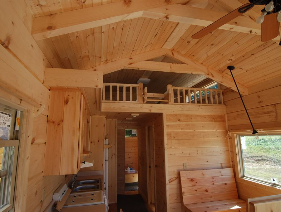 Park model log home for sale