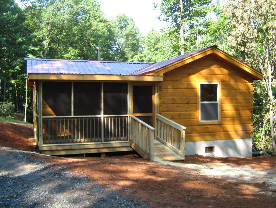 Modular log cabins rv park model log cabins 1 mountain for Custom cottages for sale