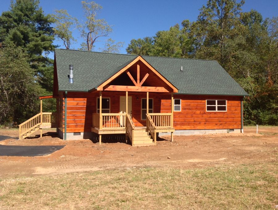 Image gallery log cabin modular homes for Cottage builders nc