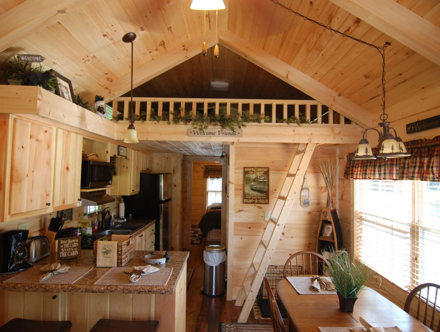 Log Cabin Home Gallery 1