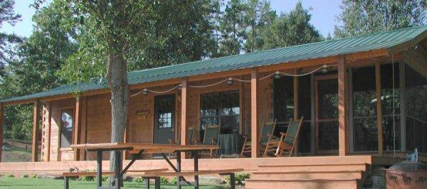 34 x 12 rv park log cabin with rear kitchen id 37 modular log